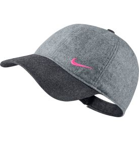 The Nike® Colorblock Golf hat is a trendy final addition to your golf outfit. The 6-paneled, structured profile of this hat gives you a durable fit that will last season after season, and the coloblock wool design is a fashionable way to inject some style into your usual rotation. The adjustable back closure allows to choose the perfect fit, and the Nike® Swoosh® logo on the front left panel and back tag show off your brand loyalty.