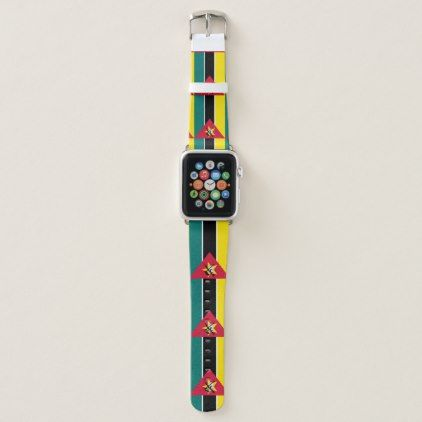 Mozambique Flag Apple Watch Band - accessories accessory gift idea stylish unique custom