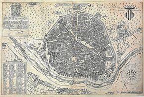 EL PRIMER PLANO, DE 1695. Descubierto hace tres décadas, el plano elaborado por Antonio Mancelli es el más antiguo de Valencia que consta en...