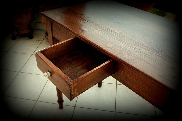 Small table - detailed view ( drawer )