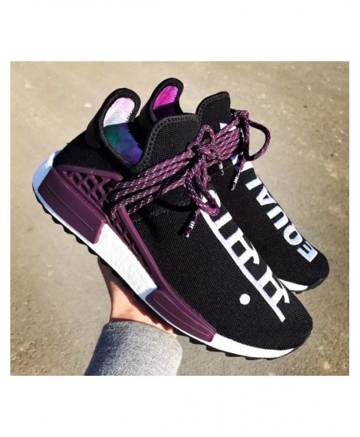 229bdccc4 Adidas Nmd Human Race Nere Viola Nere