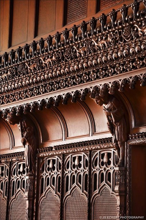 Carved wood frieze in a New York Victorian on East 69th Street: Carving Arts, Waiata, Gothic Style, Gothic Victorian Medieval, Il 60045, Arts Carving, Wood Carving, Neogothic Architecture