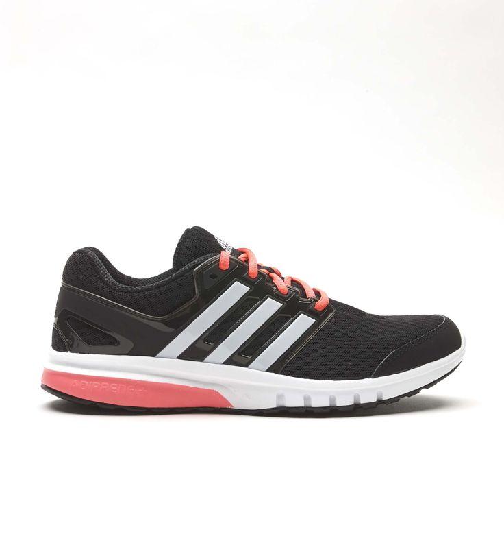 Zapatilla Adidas Galaxy Elite 2 Negro/Blanco/Rosa | Décimas