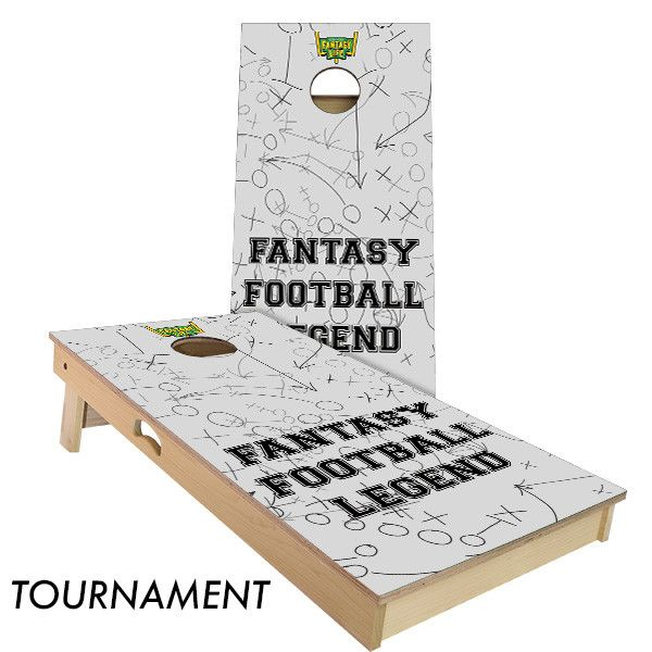 Fantasy Football Legend Cornhole Board Set