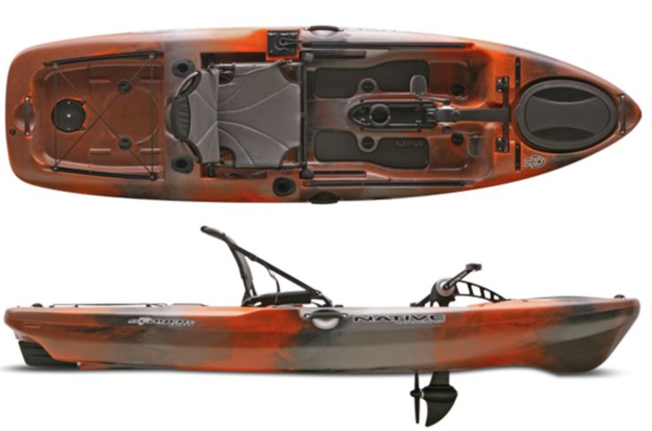Native Slayer Propel 10 DESCRIPTION WHAT'S THE BIG DEAL WITH THIS LITTLE FISHING KAYAK? Weight– or lack of to be more precise. Weighing in at 59 lbs (without the drive unit) the Slayer Propel 10 is th