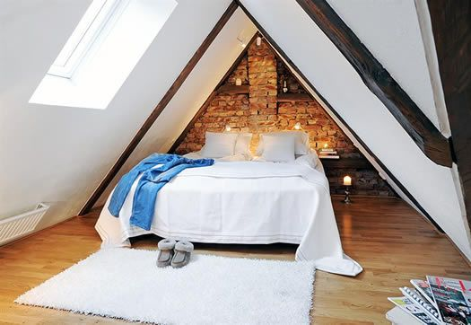 1000+ Ideas About Small Attic Bedrooms On Pinterest