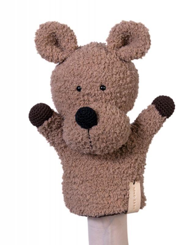 Haakpatroon handpop hond Luuk #haken #haakpatroon #gehaakt #amigurumi #knuffel…
