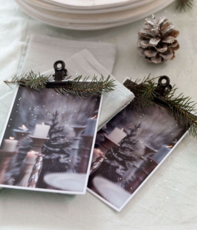 "This simple Christmas decoration idea is from our feature ""White Christmas"""