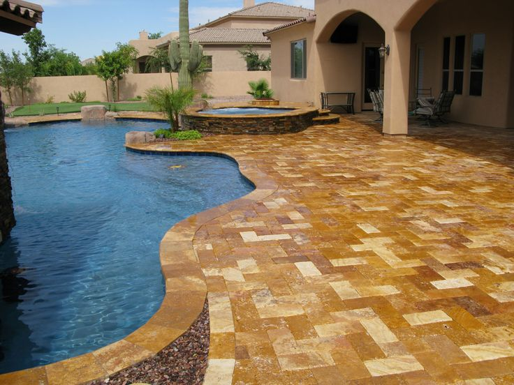 Pool Paver Ideas pool patio paver ideas Find This Pin And More On Patio Pool Landscaping Ideas