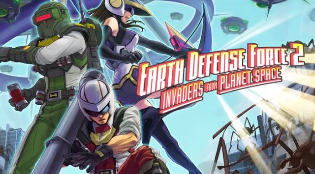 Earth Defense Force 2: Invaders From Planet Space - PS Vita Review