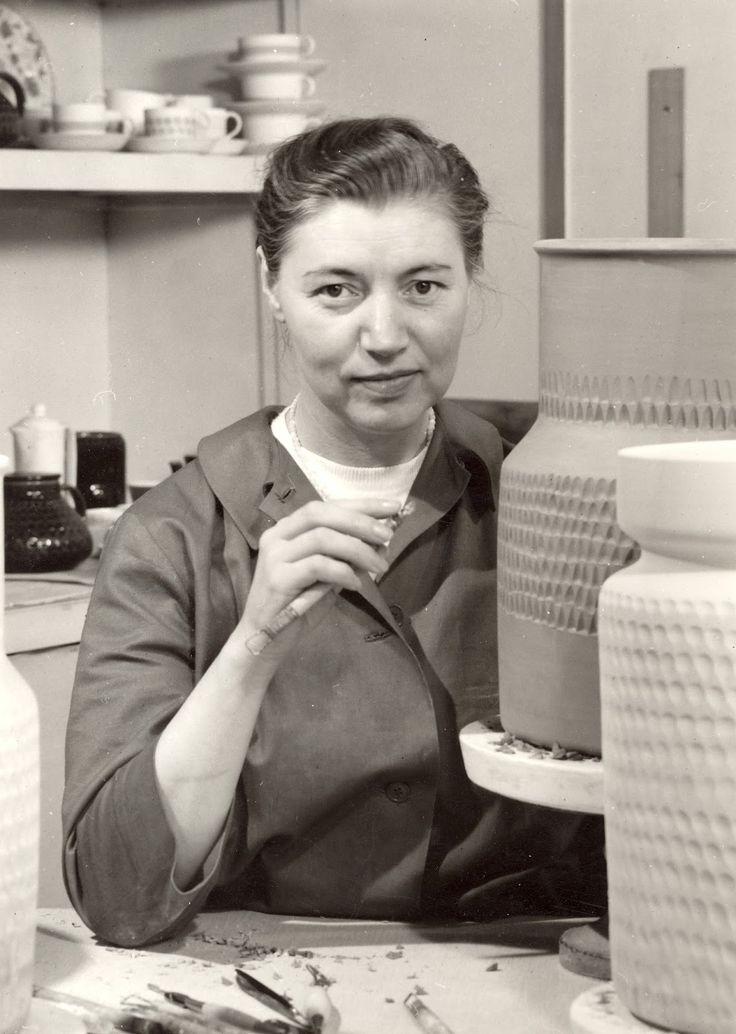 Nordic Thoughts: 'Blå eld' by Hertha Bengtson (1917–1993)