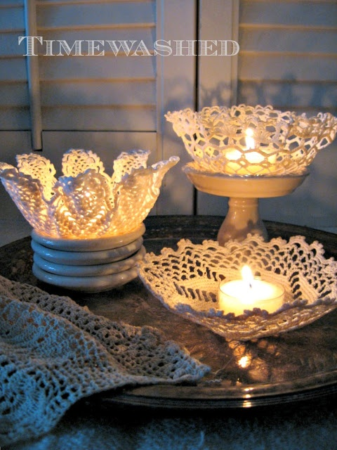 Lacy Bowls Tutorial-Loveliness..