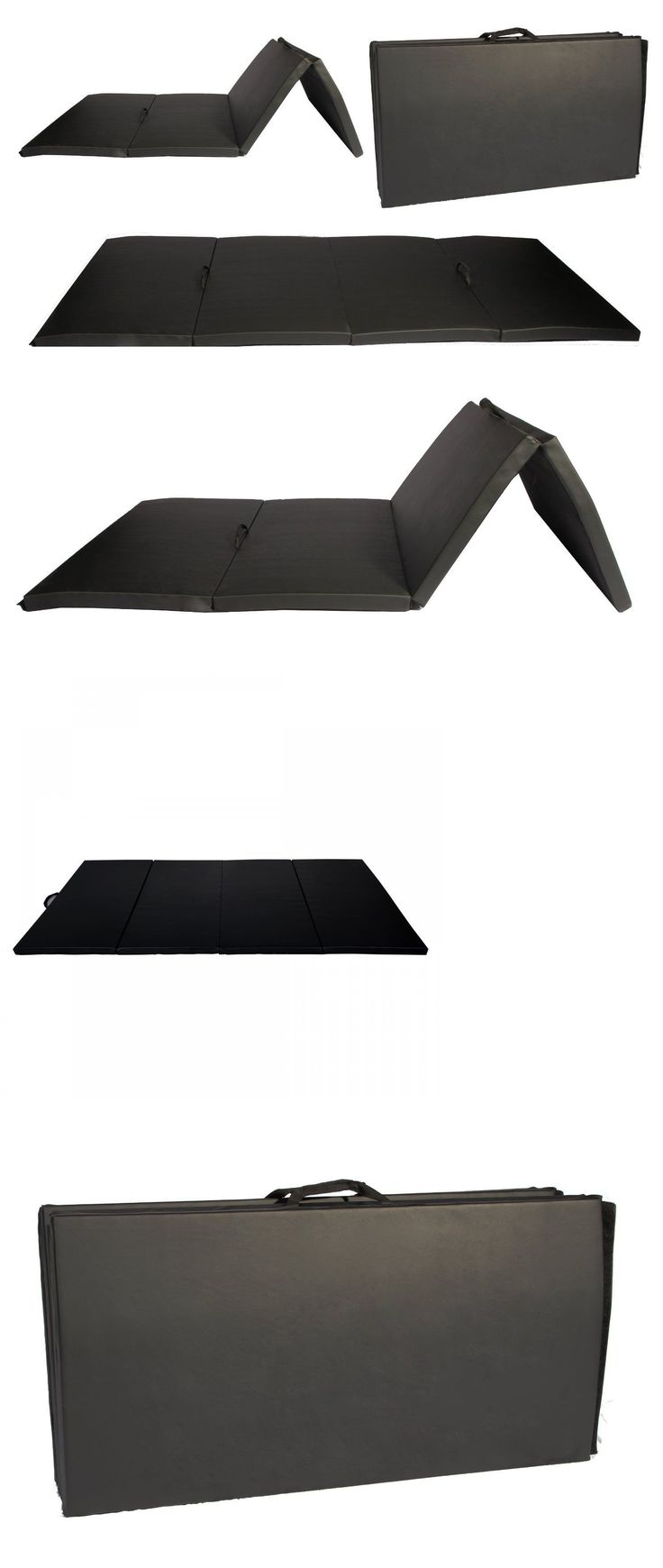 Exercise Mats 44079: New 4 X8 X2 Thick Folding Panel Gymnastic Tumbling Martial Arts Exercise Mats26 -> BUY IT NOW ONLY: $49.86 on eBay!