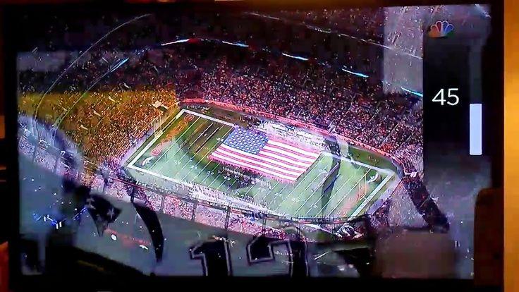 Patriots/Broncos National Anthem