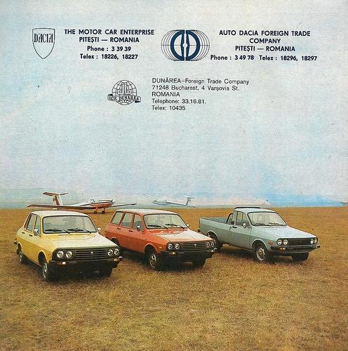 Late Eighties Dacia (renault 12)
