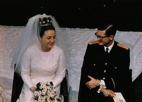 Pieter van Vollenhoven and Princess Margriet of the Netherlands