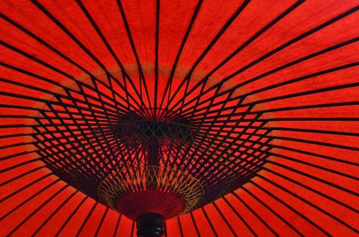 Japanese big umbrella.