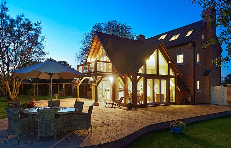 The best oak frame self build project 2015