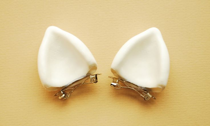 LITTLE WHITE EARS (Custom painted for My little pony, pegasus, unicorn, cosplay, party). $14.00, via Etsy.