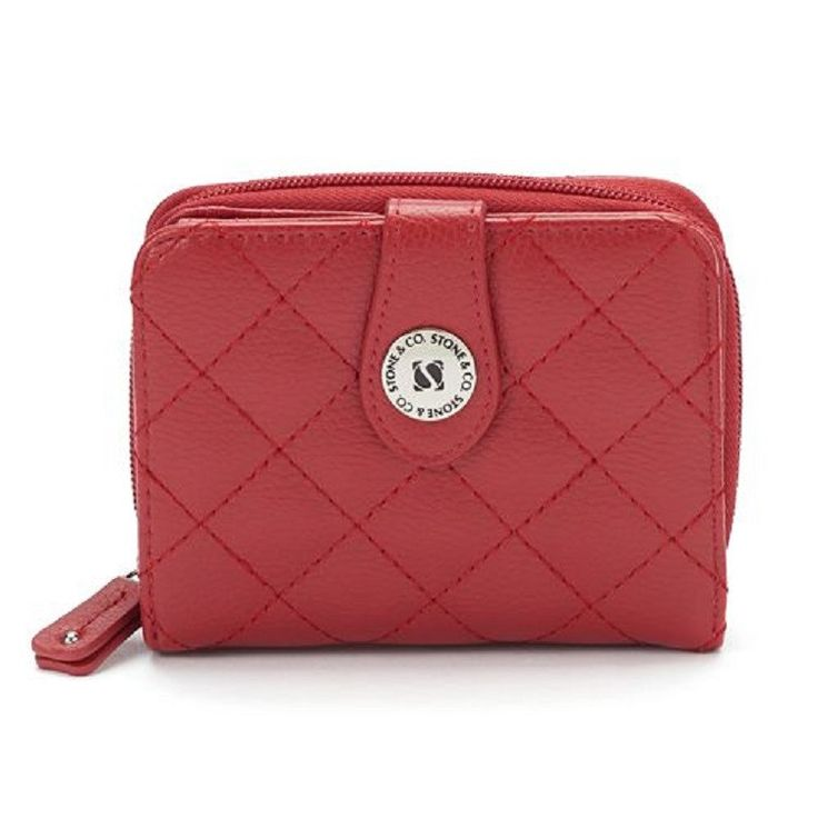 Our item of the day!  Stone & Co. Women... Check it out here: http://eden-online-boutique.com/products/stone-co-womens-quilted-leather-multifunction-wallet-3-5h-x-4-75-red?utm_campaign=social_autopilot&utm_source=pin&utm_medium=pin