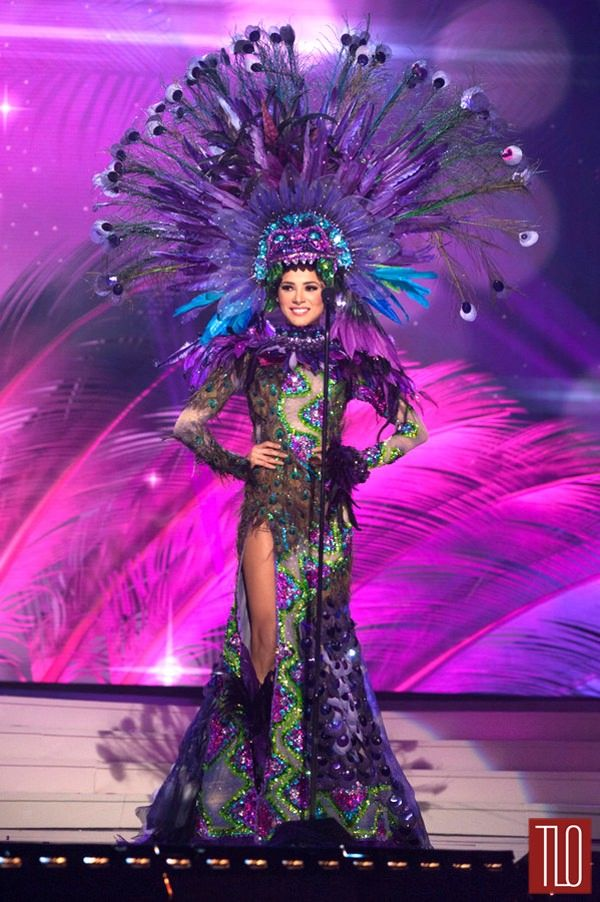 Miss Universe National Costumes 2014, Part 1: Bird Women & Show Girls! | Tom & Lorenzo Fabulous & Opinionated / Miss Mexico