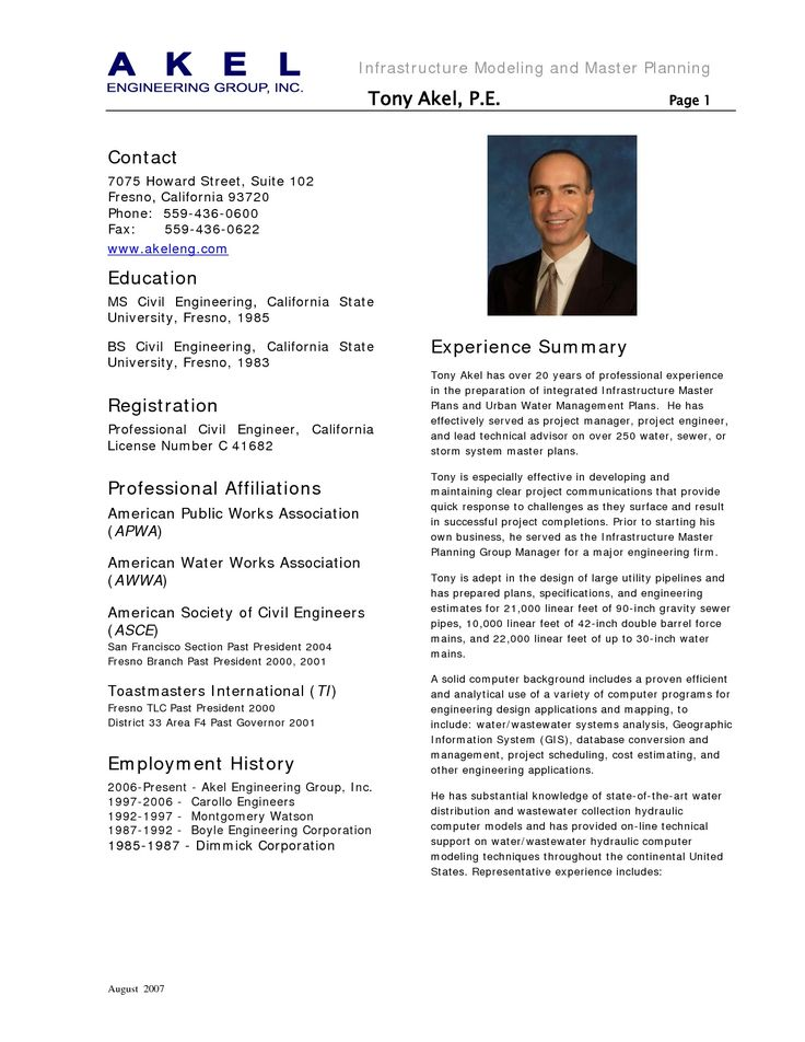 The 25+ best Job resume samples ideas on Pinterest Sample resume - example engineering resume