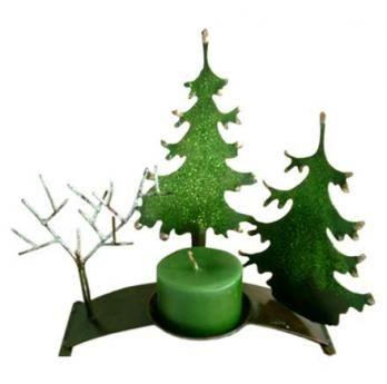 Candelabro Árbol Navidad 31 cm H x 27 cm W $50.000