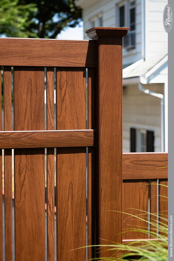 796 best grand illusions vinyl woodbond wood grain vinyl fence images of illusions pvc vinyl wood grain and color fence baanklon Choice Image