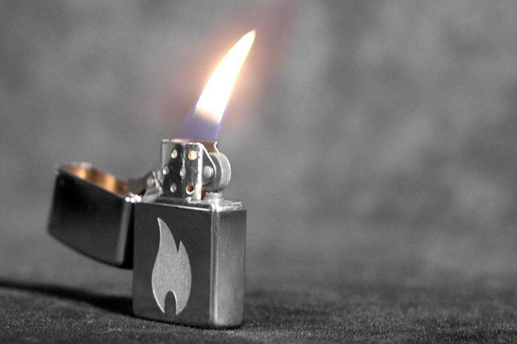 Zippo Flame by PerfectFrito