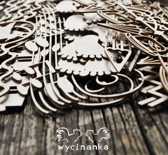 Wycinanka`s borders.  Wycinankowe bordery.