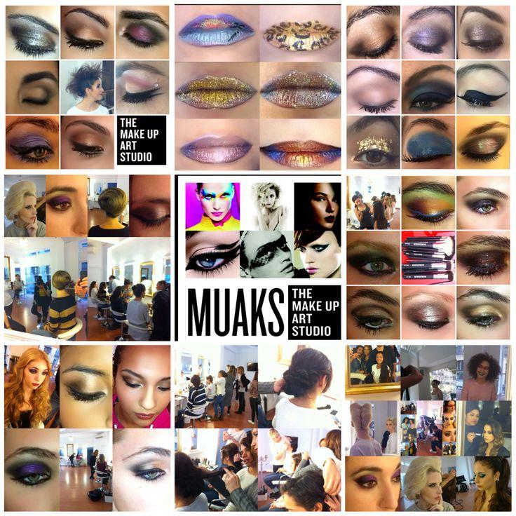 Orgulloso de nuestra escuela de maquillaje www.themakeupartstudio.com Trabajos de nuestros alumnos
