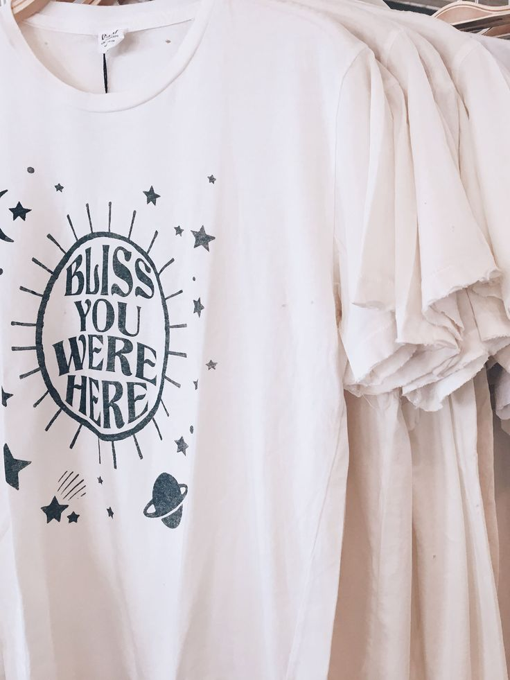 Bliss And Mischief - 'Bliss You Were Here' Destroyed Tee