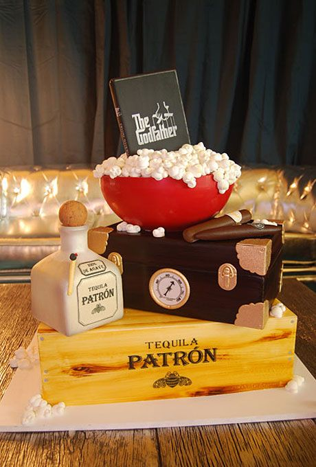 16 Best Godfather Wedding Images On Pinterest Wedding Stuff - Godfather Wedding Cake