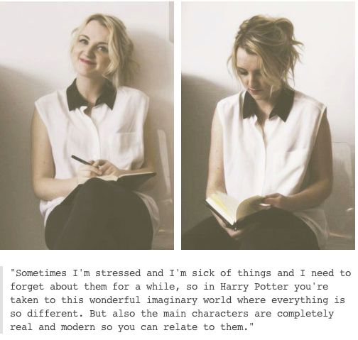 Evanna Lynch, Luna Lovegood.