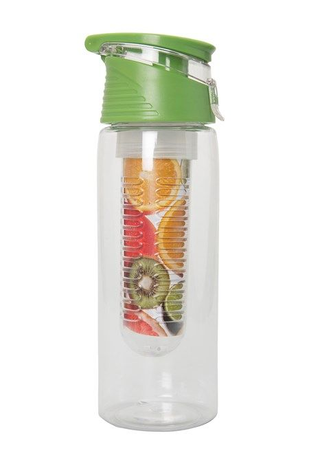 £6.49 BPA free water bottle with infuser (mountain warehouse)