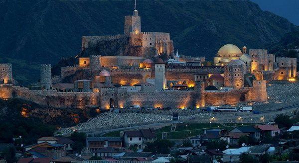 Саакашвили: Крепость Рабат - венец нашего созидания