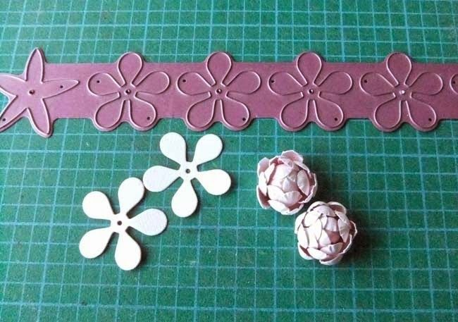from my craft room easy rose tutorial blumen aus versch materialien pinterest material. Black Bedroom Furniture Sets. Home Design Ideas