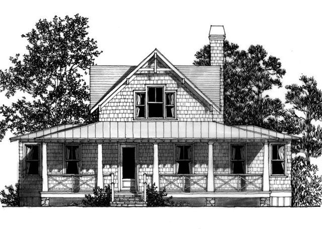 yellow jacket creek lake house plan by mitch ginn