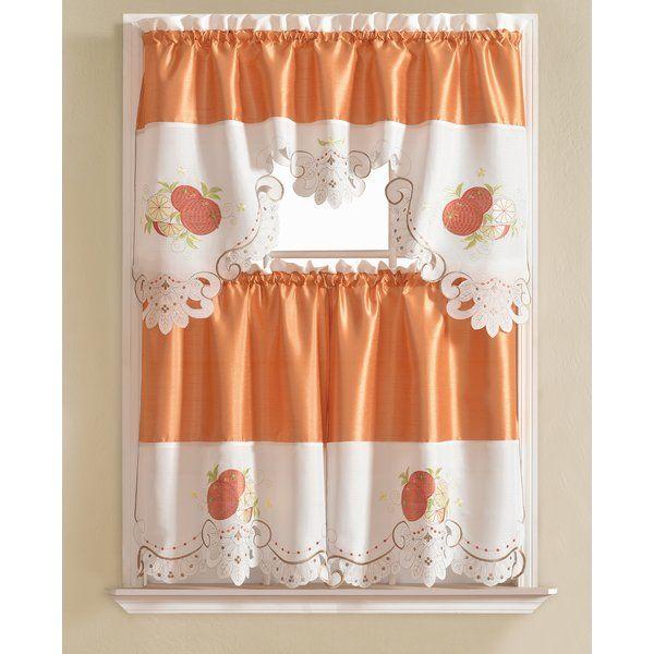Best 25 Kitchen Curtain Sets Ideas On Pinterest  Kitchen Magnificent White Kitchen Curtains Design Inspiration