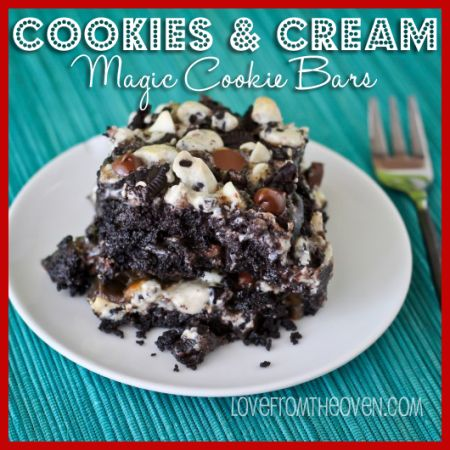 Cookies And Cream Magic Cookie Bar Recipe