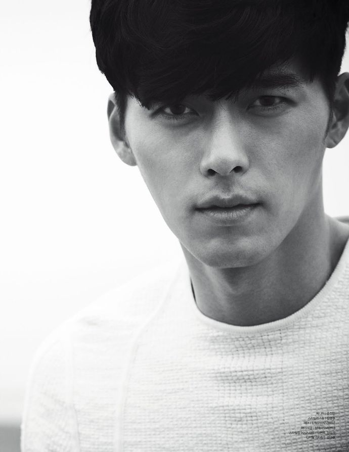 3rd Batch Of Spreads Of Hyun Bin In W Korea's May 2014 Issue |