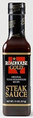 Sauces 14313: Texas Roadhouse Gold Steak Sauce 11Oz Bottle (Pack Of 3) -> BUY IT NOW ONLY: $61 on eBay!