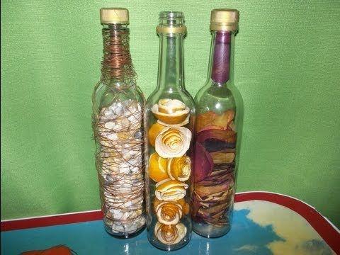 botellas rellenas :)