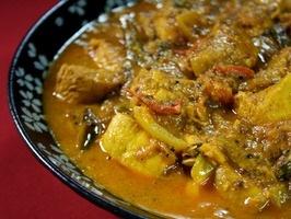 south Indian chicken ~ Spice Goddess… yum!