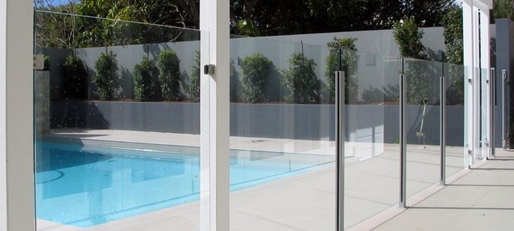 48 Best Images About Pool Fencing On Pinterest Fencing Pool Fence And Curved Glass