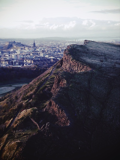 Edinburgh over Arthur's Seat » submitted by weightless—souls