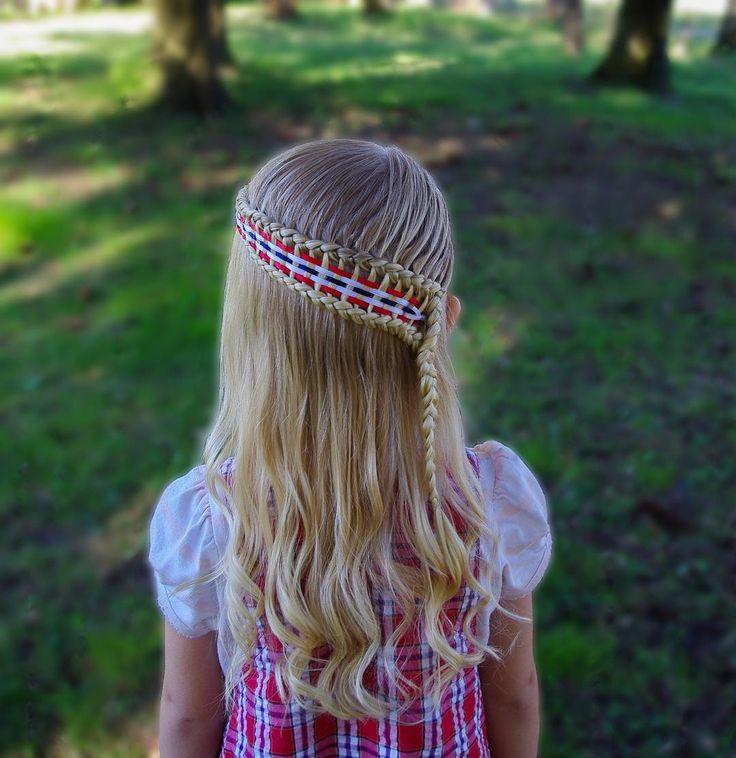 Another version of the ladder braid with 5 ribbons woven in the middle. This style was inspired by @2littlegirls_hairstyles  .  .  .  . .  #braid #braids #braided #braiding #braidideas #braidsforgirls #flette #peinado #tresse #dutchbraid #trenza #pelo #hair #hairdo #hairstyle #hairstyles #hairideas #hairinspo #hairofinstagram #hairoftheday #hår #curls #blondehair #longhair #krøller #17maitwin2017