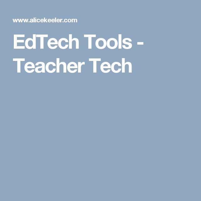 EdTech Tools - Alice Keelers lista på digitala verktyg för alla lärare i alla ämnen