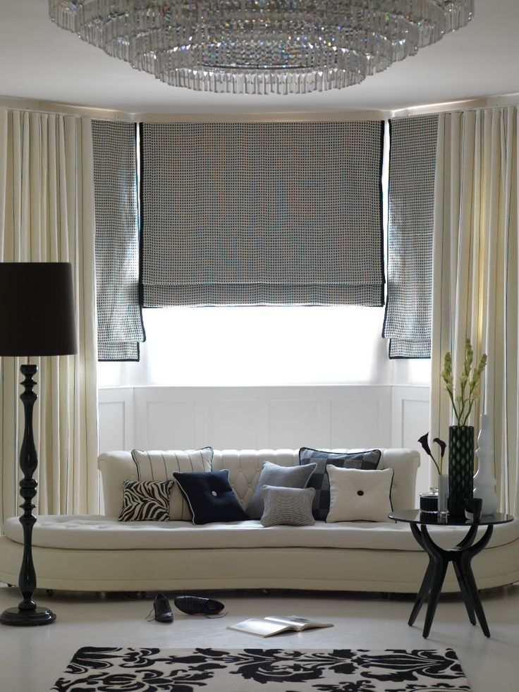 Szare Rolety Rzymskie Grey Roman Blinds Drapes Curtains