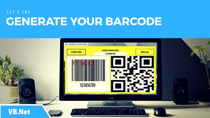 Tutorial how to create barcode code By type Code128A and QRCode using KeepAutomation.Barcode.Windows.dll library